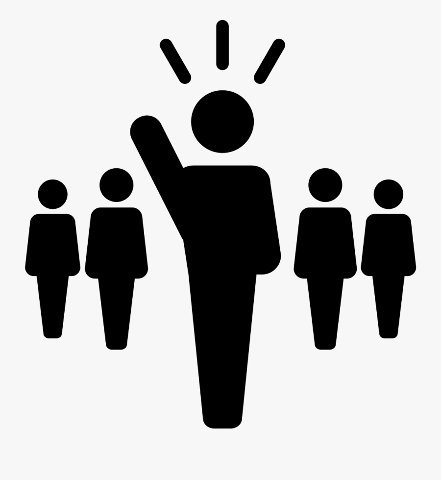 Leadership Clipart Black And White, Transparent Clipart