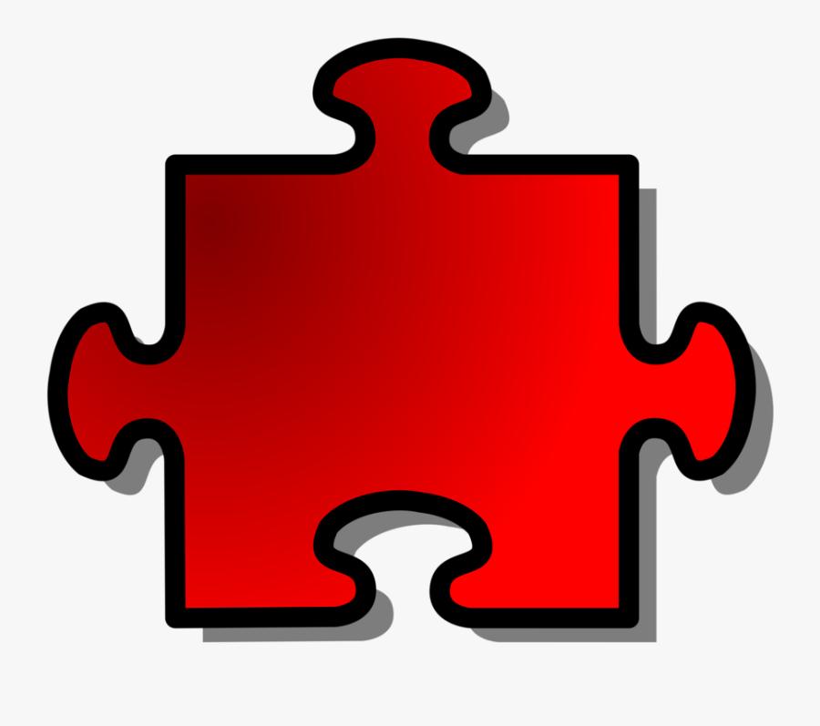 Line,leadership,symbols Of Leadership - Red Autism Puzzle Piece, Transparent Clipart