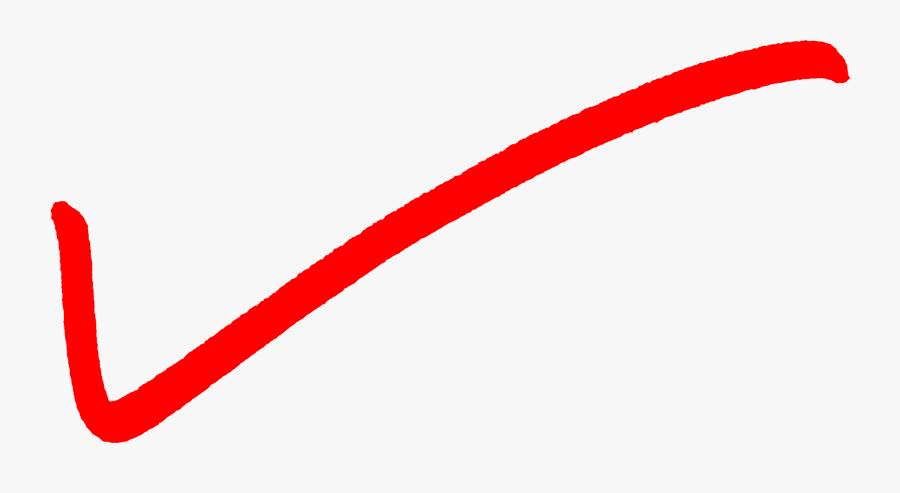 Red Check Mark Transparent Background 8, Transparent Clipart