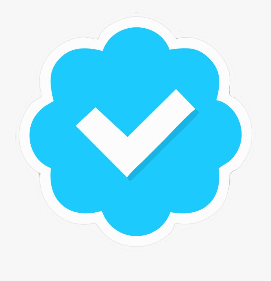 Tick Twitter, Transparent Clipart