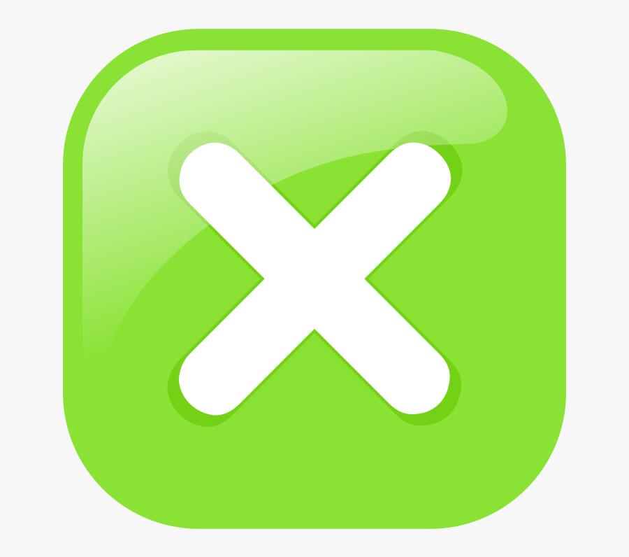 Grass,text,symbol - Close Button Green, Transparent Clipart