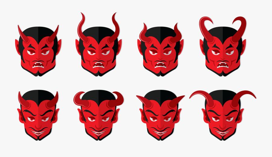Transparent Demon Horn Png - Demon, Transparent Clipart