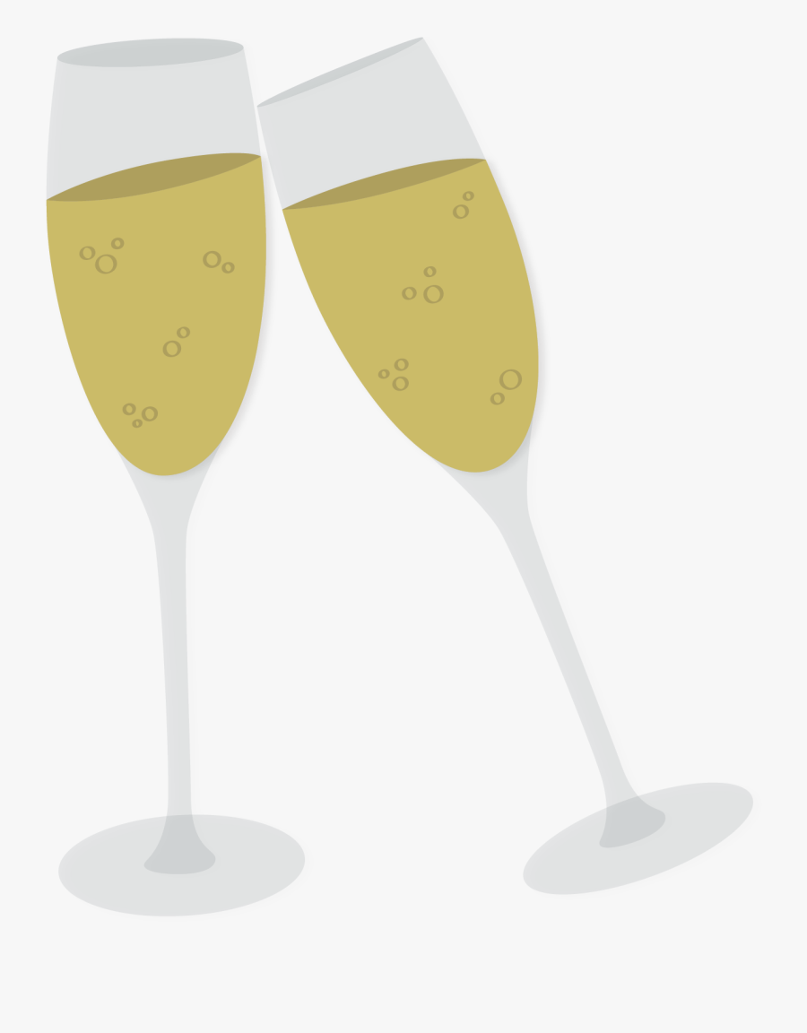 Transparent Clinking Glasses Clipart Champagne Glasses Png Cartoon Free Transparent Clipart Clipartkey