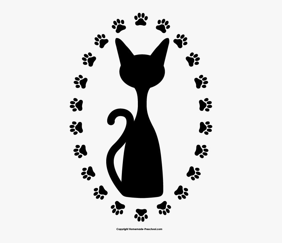 Free Paw Prints Clipart Jpg Free Stock - Cats Paw Prints Clip Art, Transparent Clipart