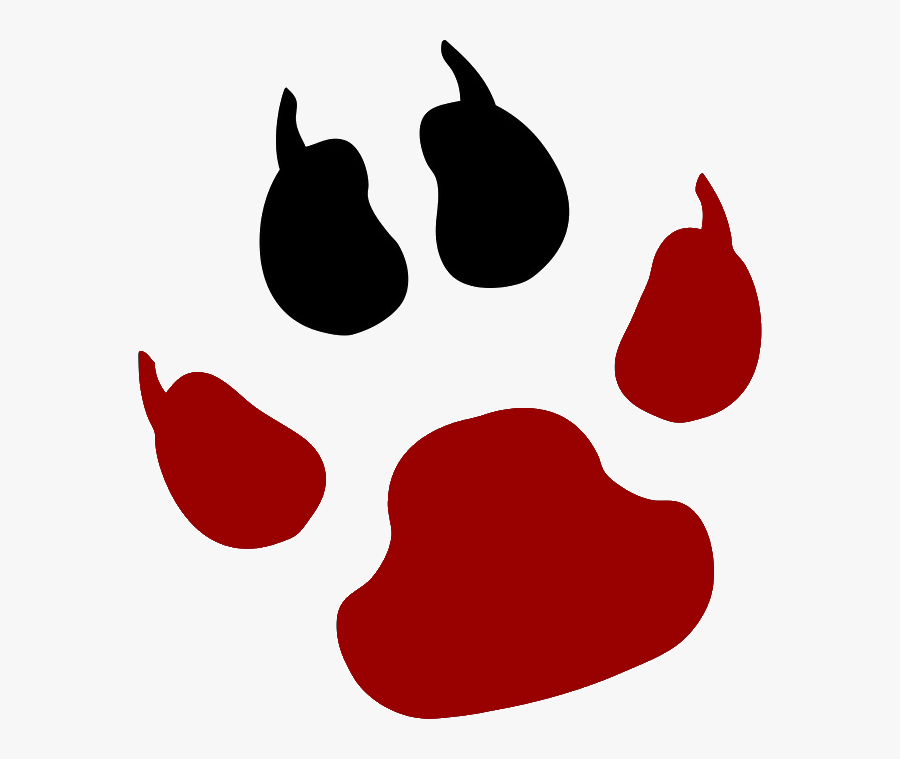 Fallout Clipart Pit - Jack Russell Terrier Paw Print, Transparent Clipart