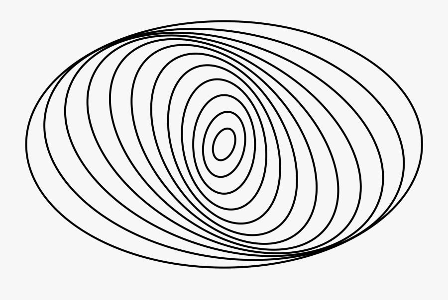Spiral Elliptical And Irregular Galaxy Clipart - Easy To Draw Elliptical Galaxy, Transparent Clipart