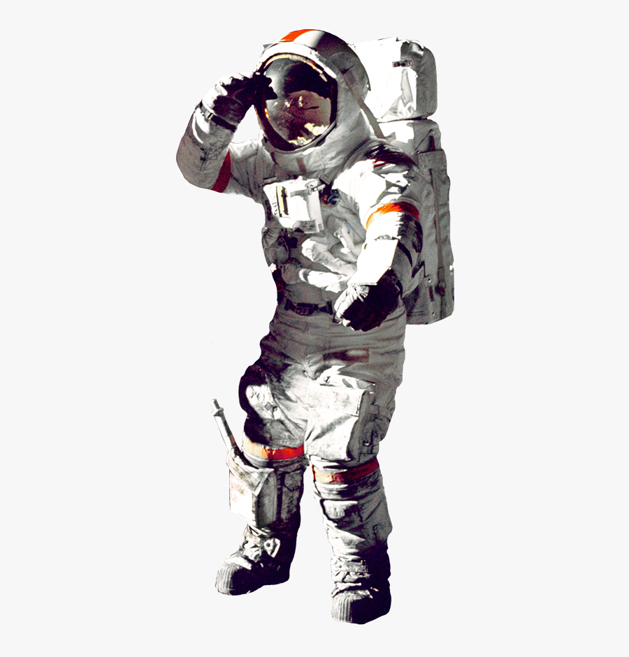 Astronaut On The Moon Clipart - Astronaut With Flag Png, Transparent Clipart