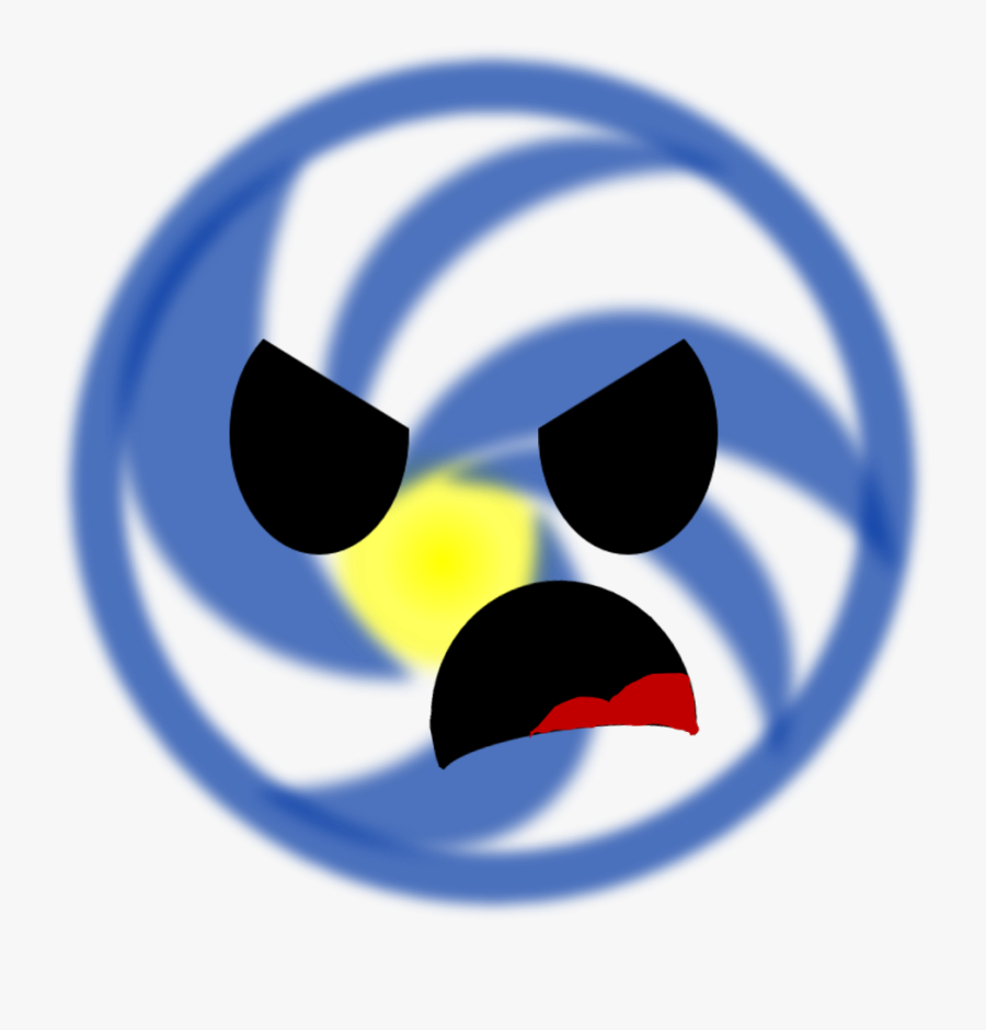 The Angriest Galaxy - Circle, Transparent Clipart