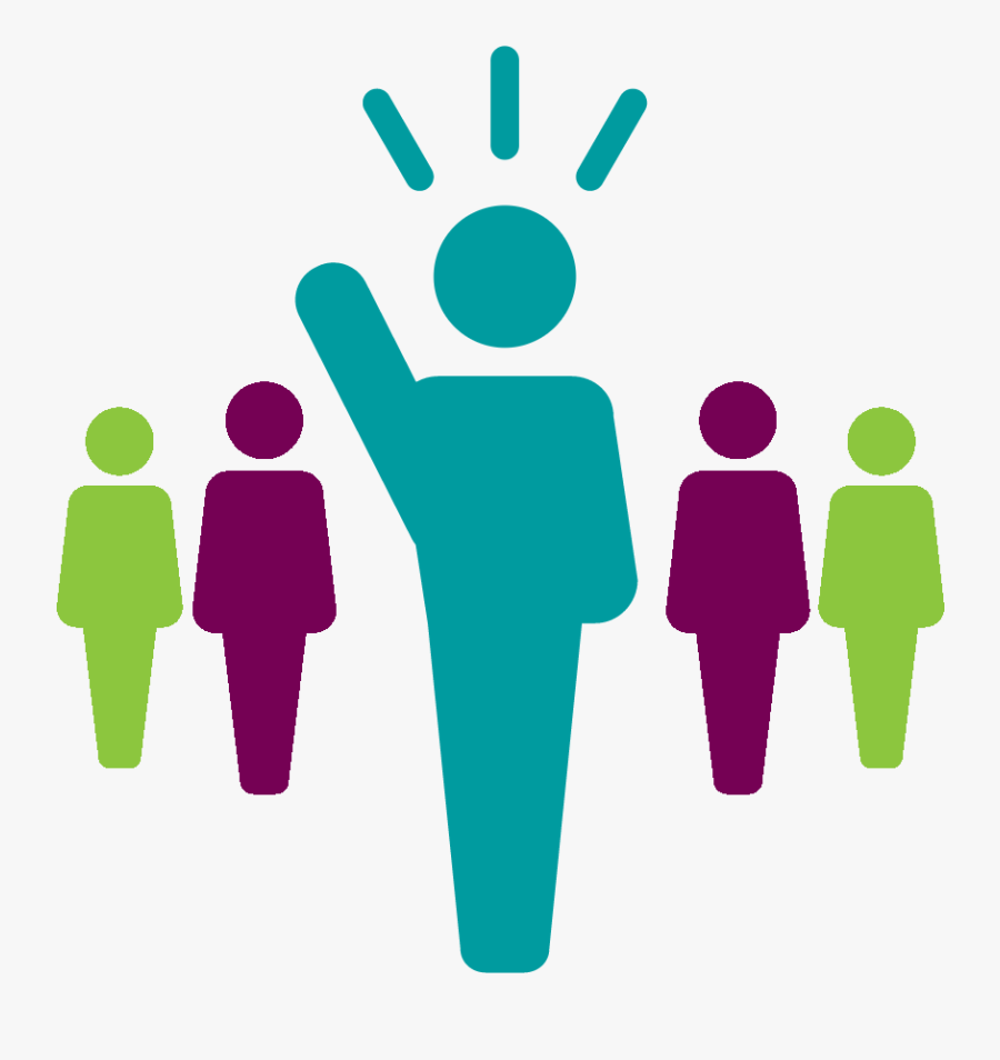 Leadership Clipart Icon - Transparent Background Leadership Icon, Transparent Clipart