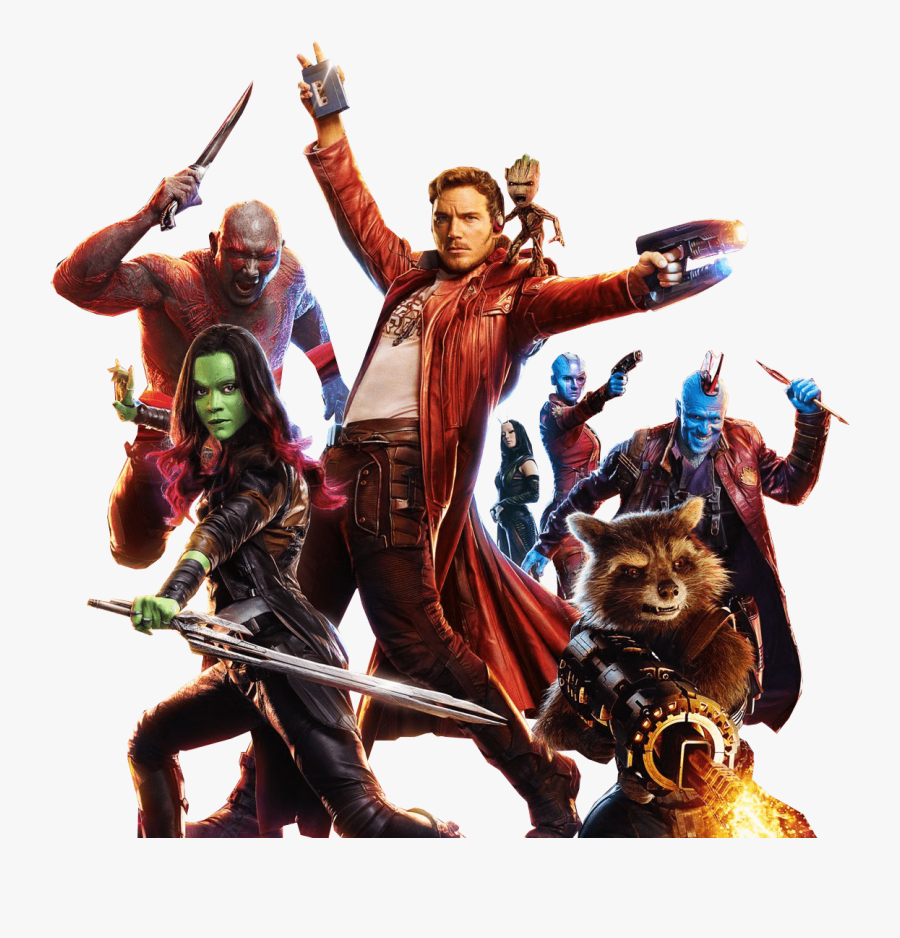 At The Movies - Guardian Of Galaxy Png, Transparent Clipart