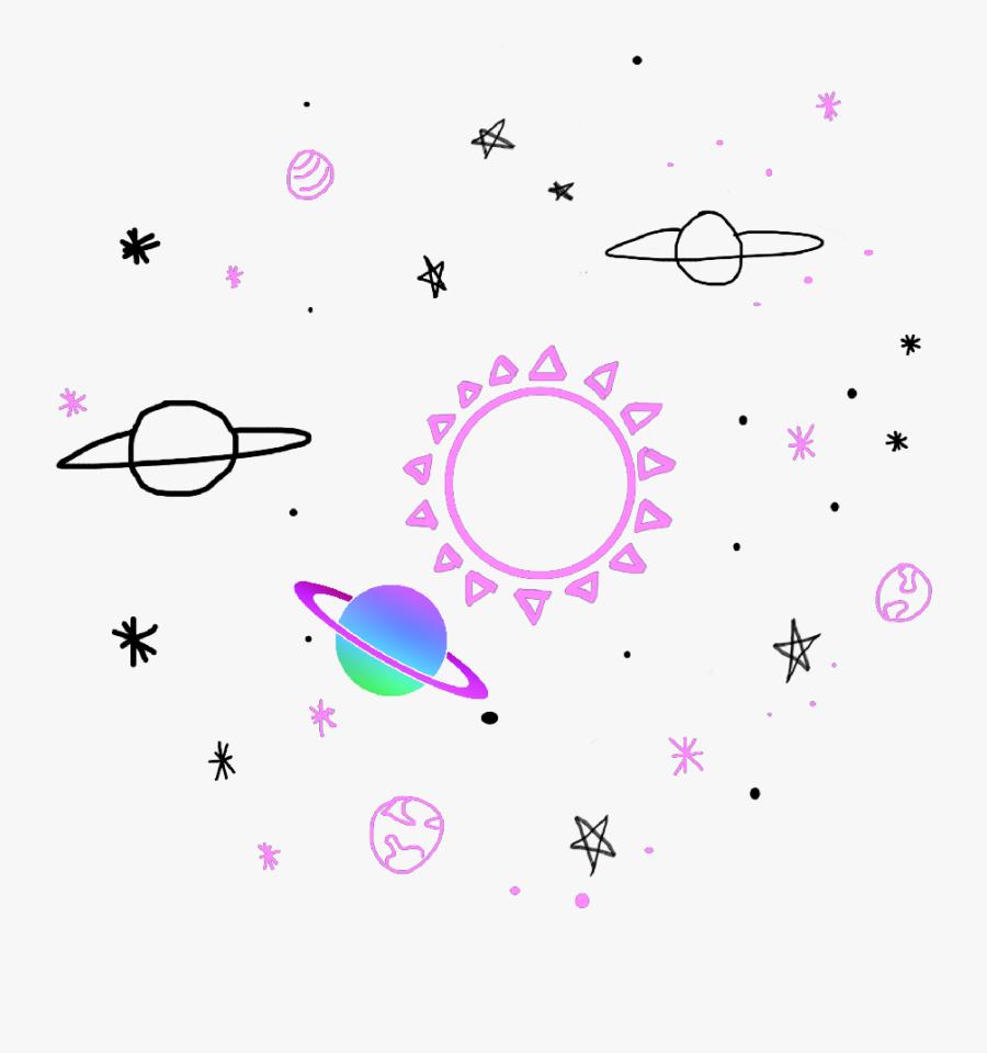 Star Universe Tumblr Planet - Planetas Tumblr Png, Transparent Clipart