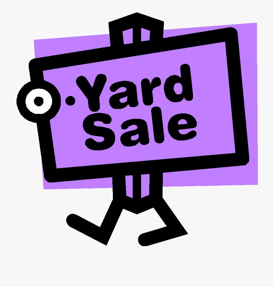 Transparent Flyer Clipart - Yard Sale Sign Pdf, Transparent Clipart