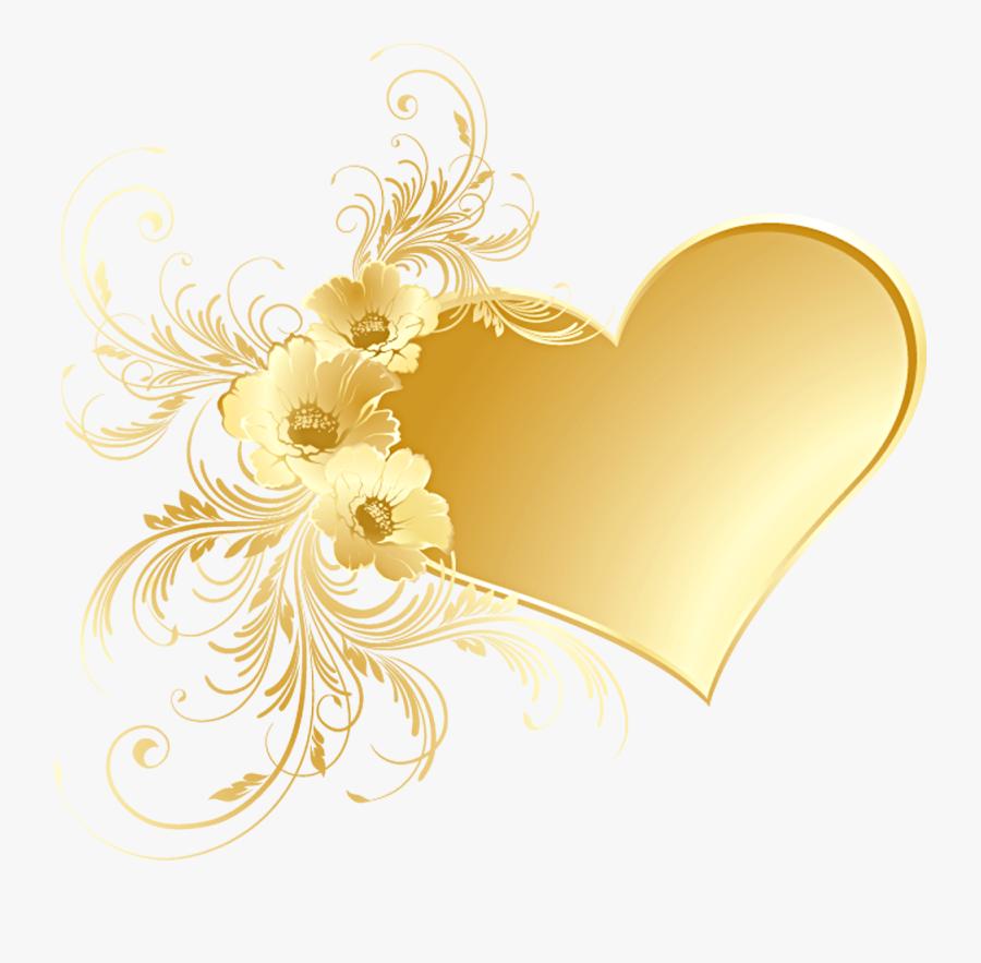 Weddings Free Clipart Golden Wedding Anniversary - Gold ...