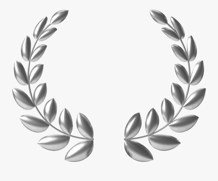 Jewellery,monochrome Photography,body Jewelry - Gold Laurel Leaf Png, Transparent Clipart