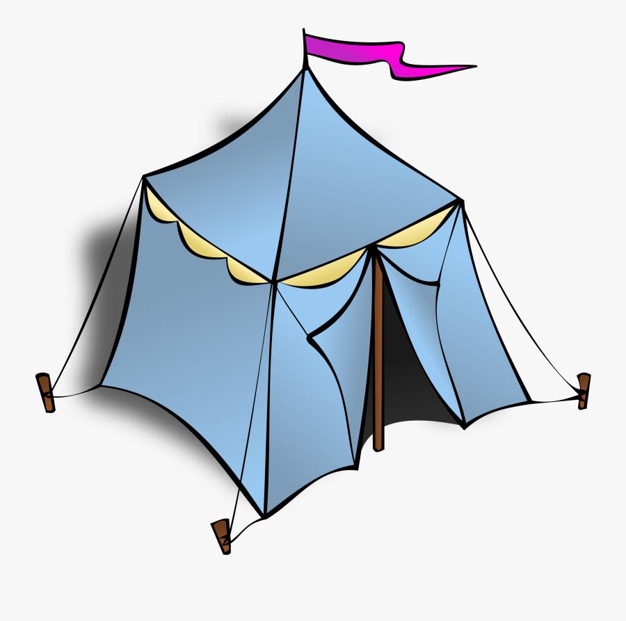 Tent Clip Art, Transparent Clipart