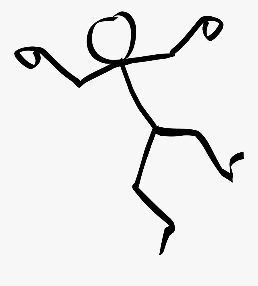 Dancing Stick Figure Clipart, Transparent Clipart