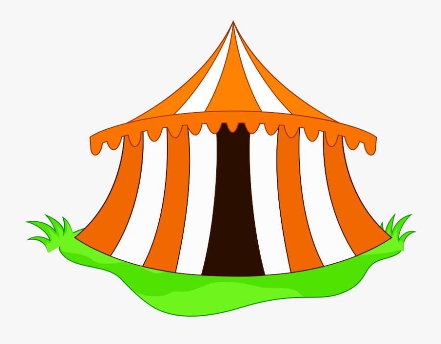 Cartoon Circus Tent Clip Art Png - Cartoon Circus Tent Png, Transparent Clipart
