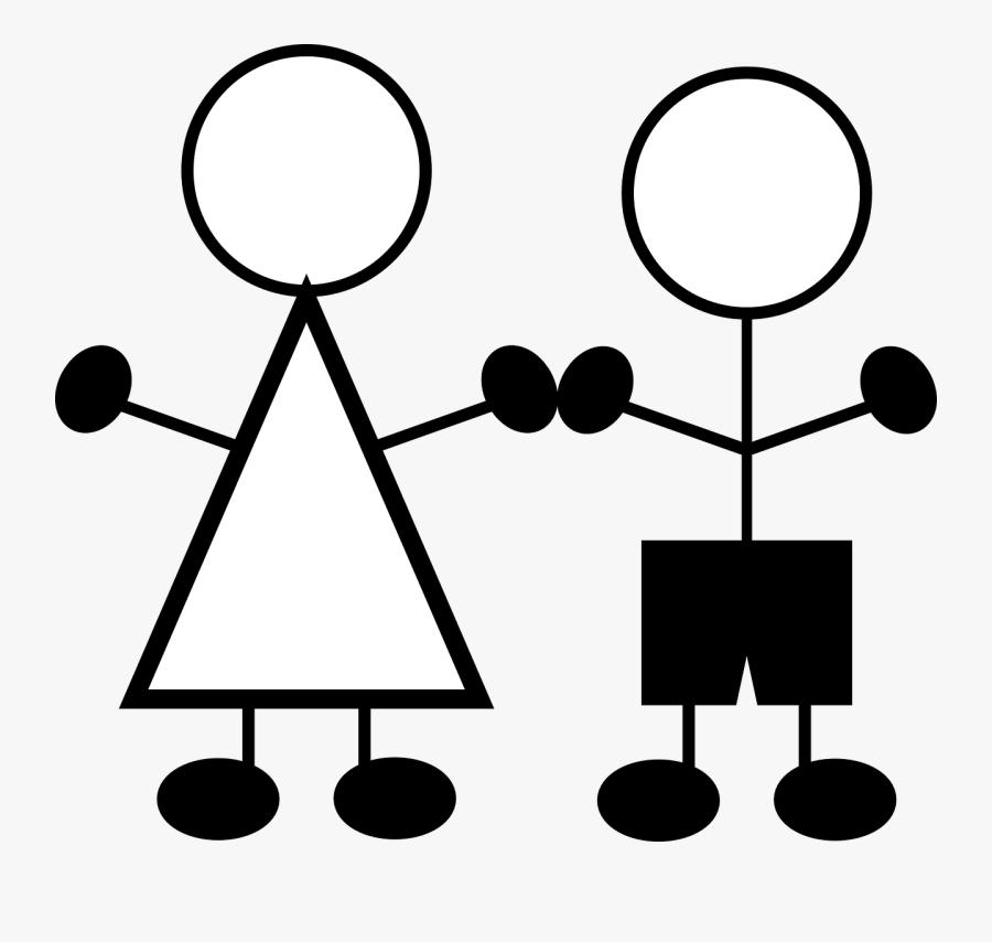 Transparent Stick Figure Png - Stick Figure Clip Art, Transparent Clipart