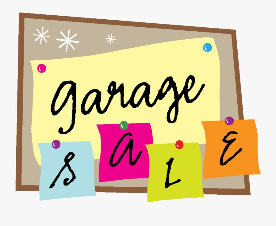 Clip Art Garage Sales, Transparent Clipart