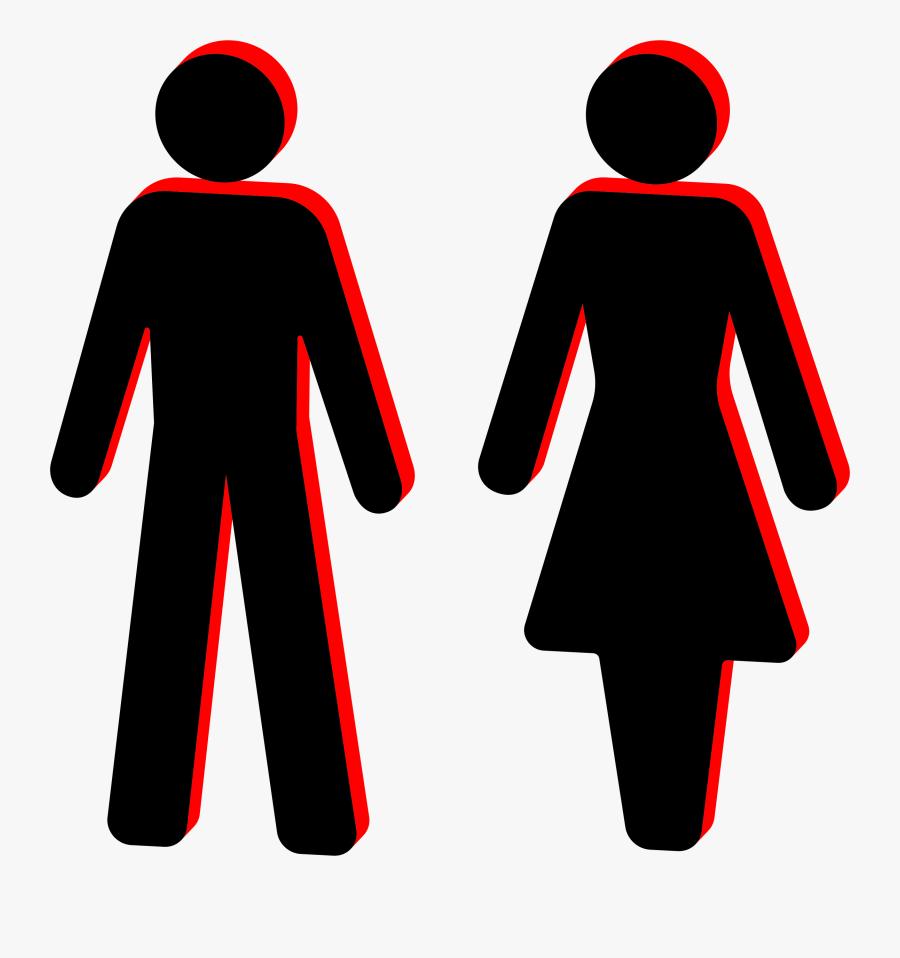 Clip Art Clipart D Male And - Person Clip Art Stick Figure, Transparent Clipart