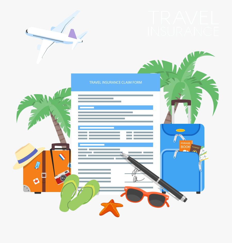 Travel Clipart , Png Download - Travel Insurance Clip Art, Transparent Clipart