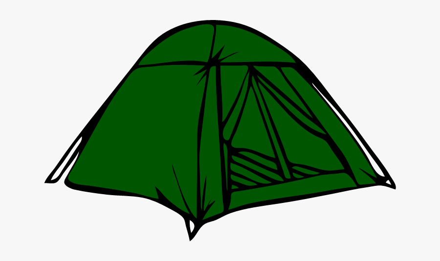 Tent Black And White Clipart, Transparent Clipart
