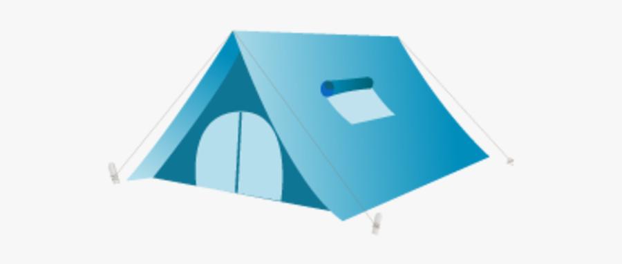 Tent Icon, Transparent Clipart