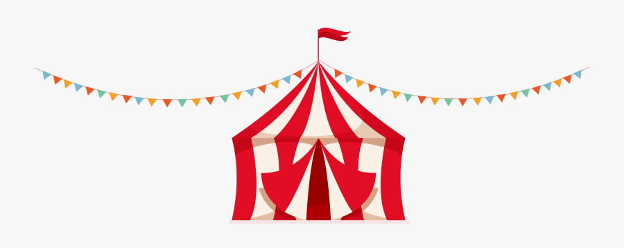 Carnival Tent Vector At Free For Personal Use Transparent - Transparent Circus Tent Vector, Transparent Clipart