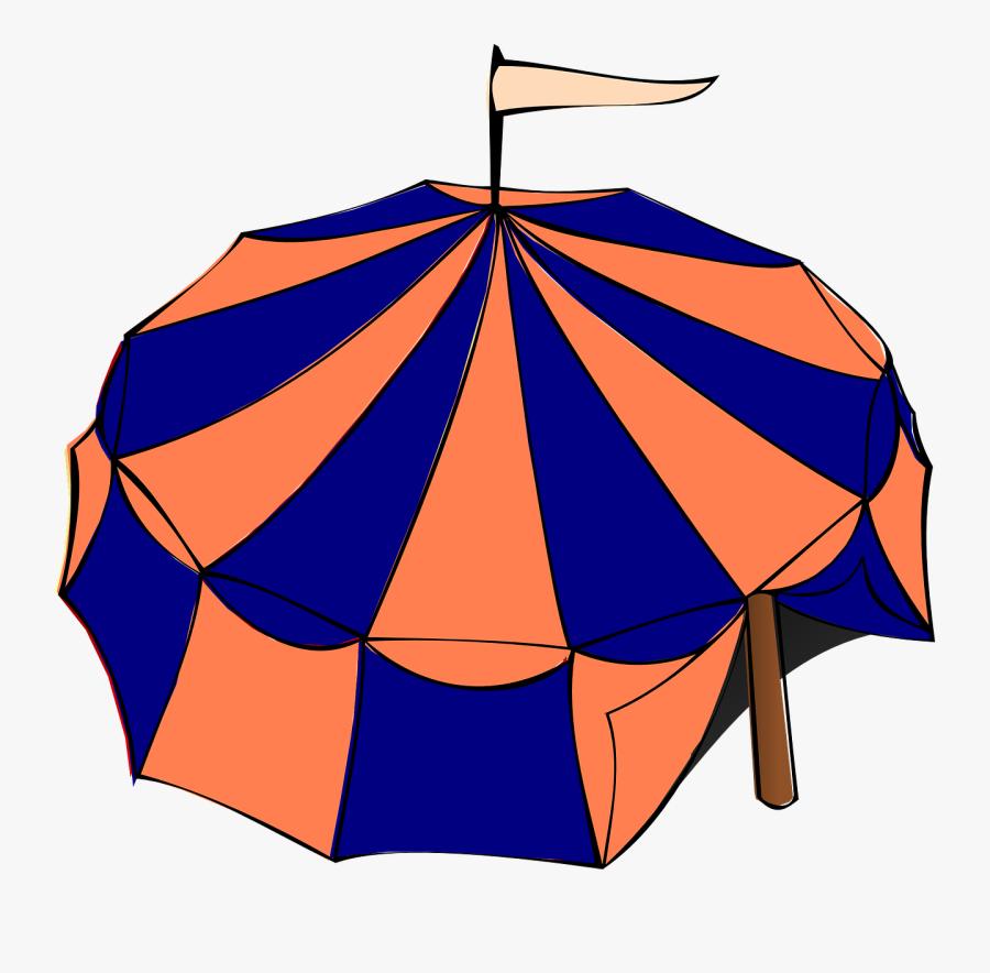 Carnival Tent Svg Clip Arts - Circus Tent Clip Art, Transparent Clipart