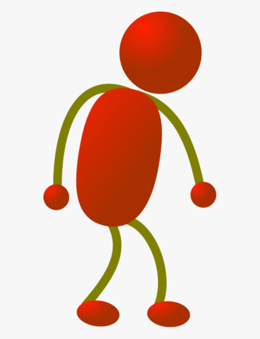 Happy Stick Man - Imagenes De Monitos Animados Tristes, Transparent Clipart