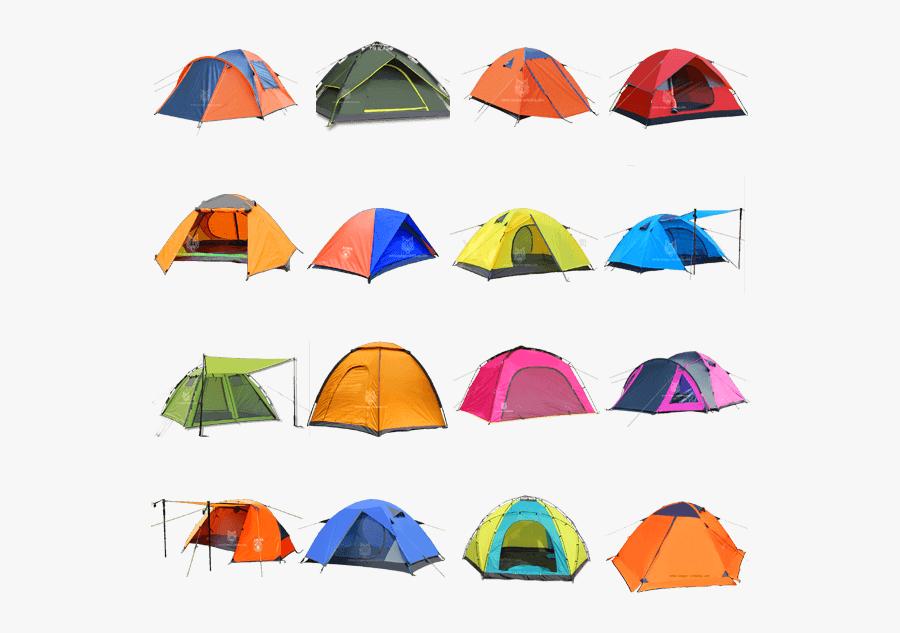Tent Clipart Dome Tent - Tent Types, Transparent Clipart