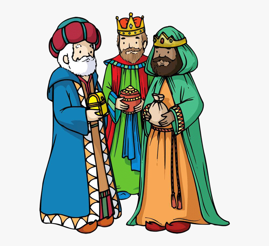 Dificultades Del Camino No Fue Nada Fácil Para Los - Nativity Three Wise Men, Transparent Clipart