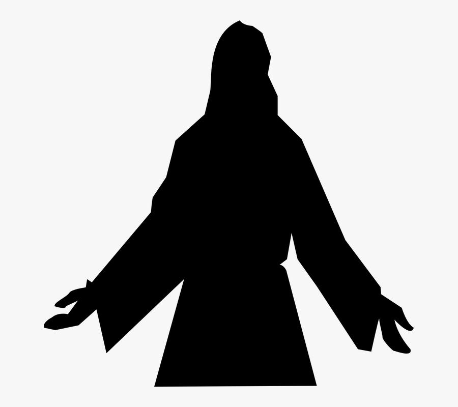 Atheist - Clipart - Jesus Silhouette Free, Transparent Clipart