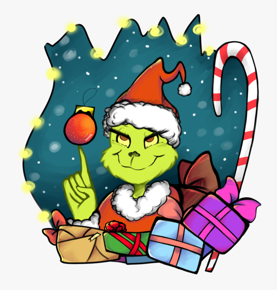 El Grinch By Dulcedy - Grinch Who Stole Christmas Png, Transparent Clipart