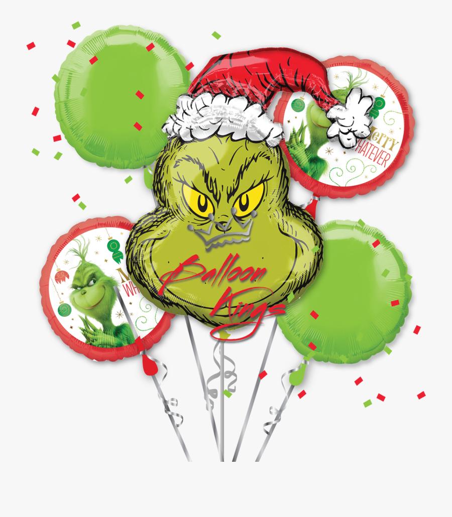 The Grinch Bouquet - Grinch Stole Christmas, Transparent Clipart