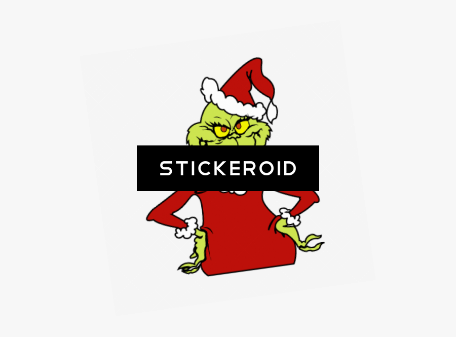 Christmas Grinch Png - Christmas Grinch, Transparent Clipart