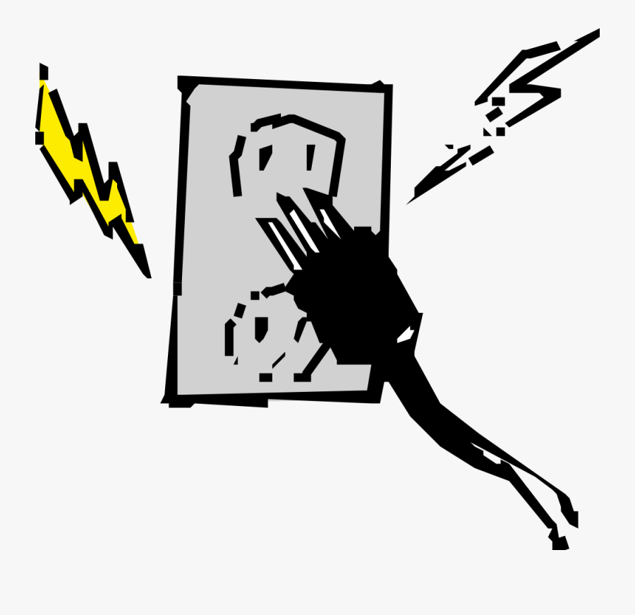 Electrical Outlet And Plug - Electrical Energy Clipart, Transparent Clipart