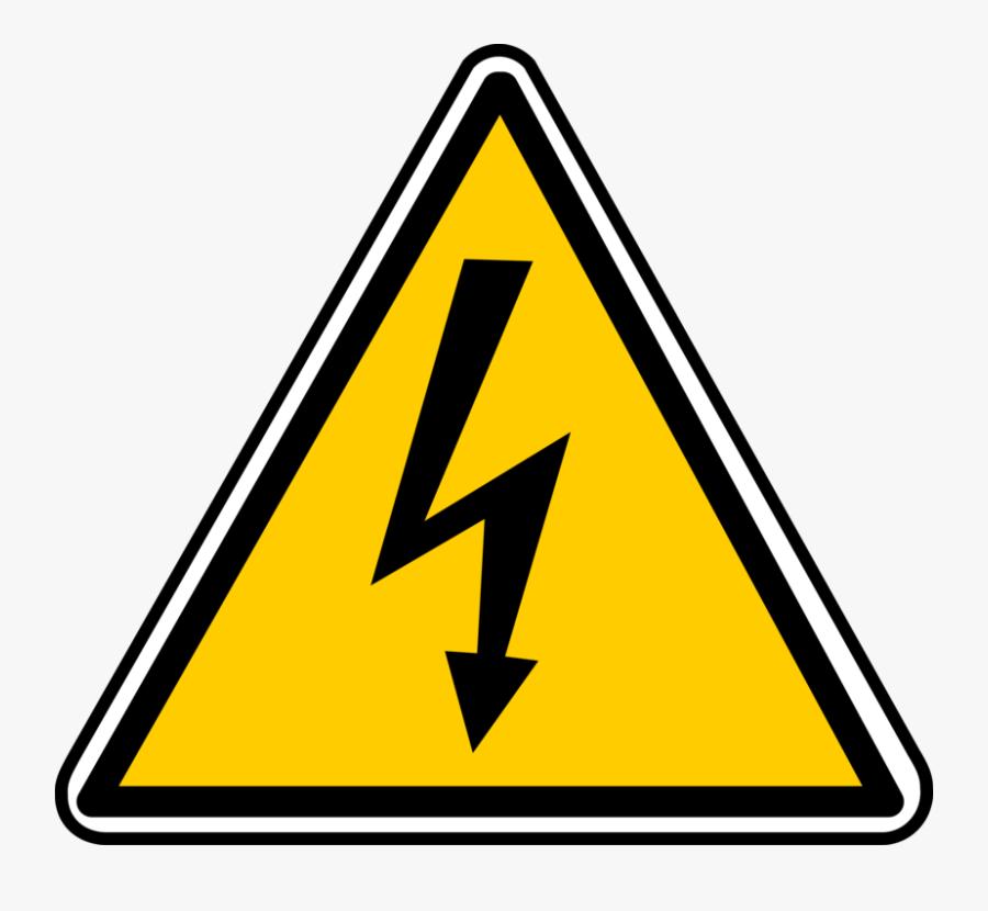 Electricity Clip Art - Power Electric Symbol, Transparent Clipart