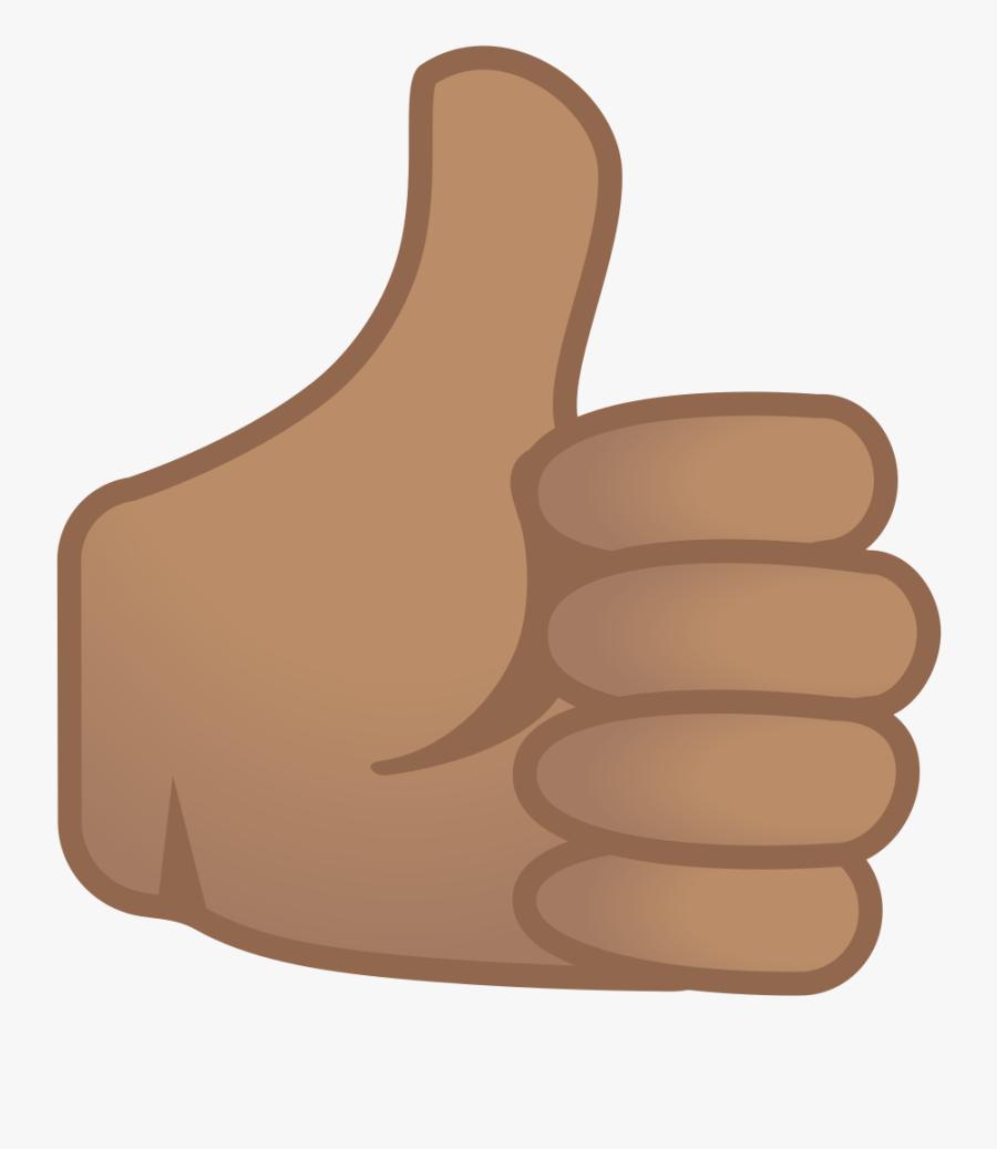 Good Clipart Thumbs Up Emoji - Thumbs Up Large Emoji, Transparent Clipart