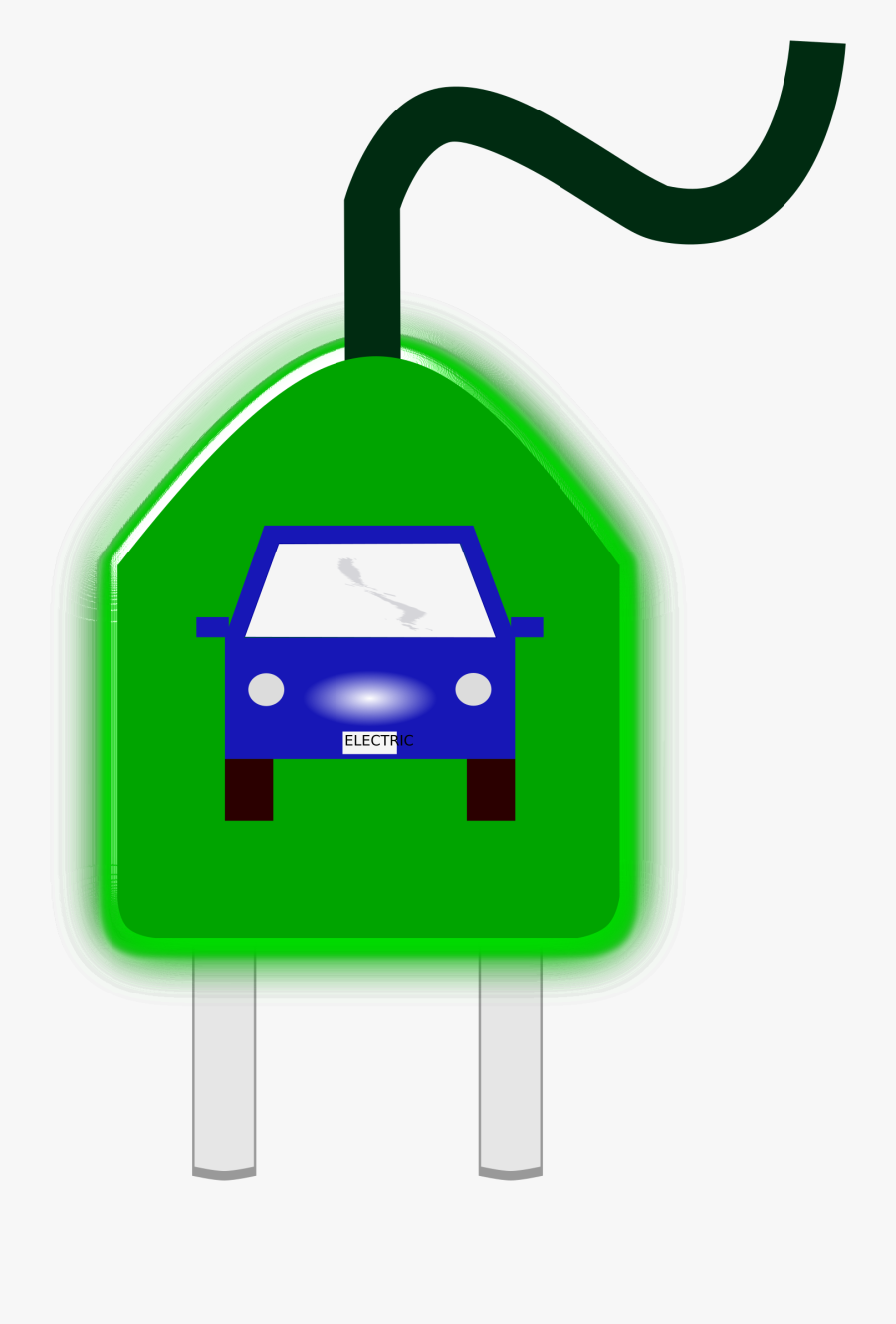 Electric Vehicle Electric Car Electricity Charging - Car Plug In Clipart, Transparent Clipart