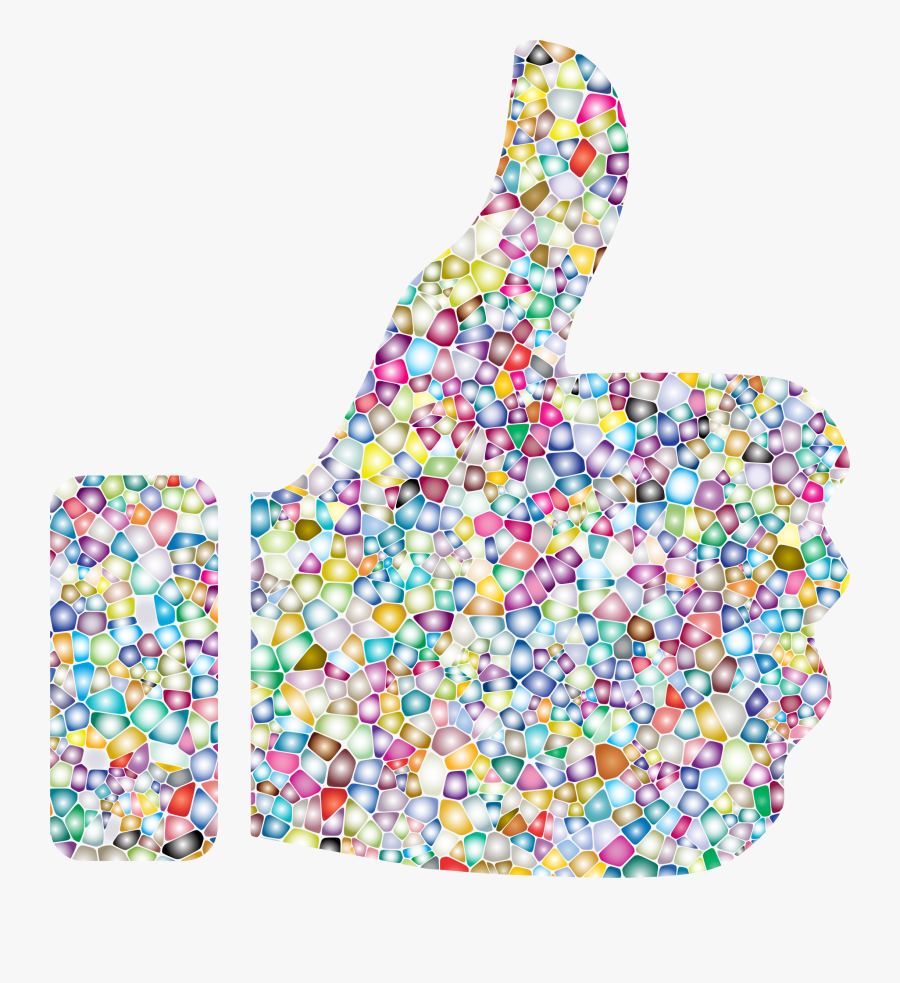 This Free Icons Png Design Of Sweet Tiled Thumbs Up - Thumbs Up Background Png, Transparent Clipart