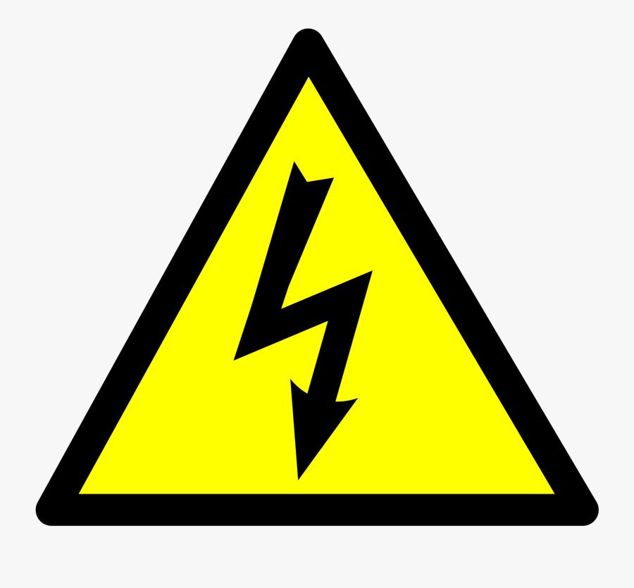 Lightning Electric Sign Transparent Clipart Free Ya - Electricity Clipart, Transparent Clipart