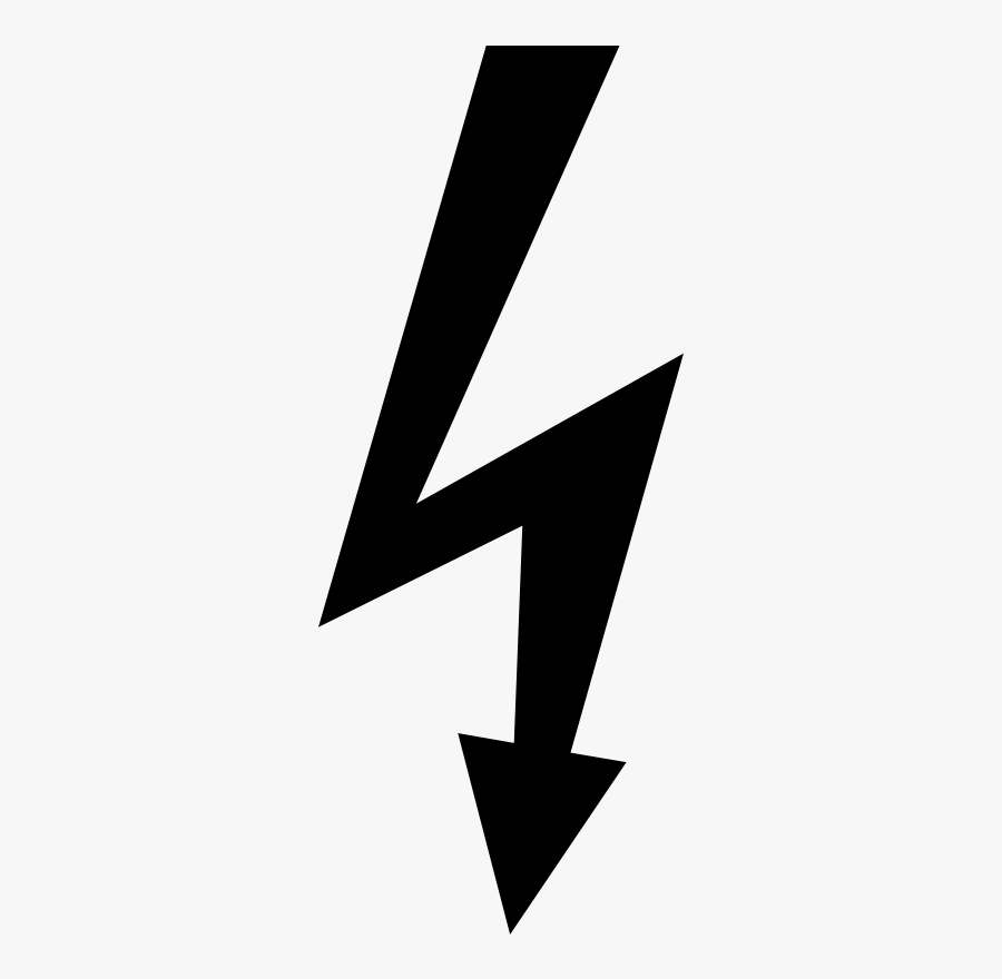 Alternating Current Electric Electricity High Potential - Electrical Hazard Symbol Png, Transparent Clipart
