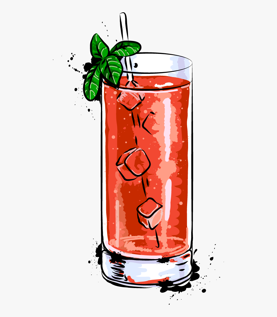 Juice Cocktail Bloody Mary Margarita Mojito - Illustration Bloody Mary Cocktail, Transparent Clipart