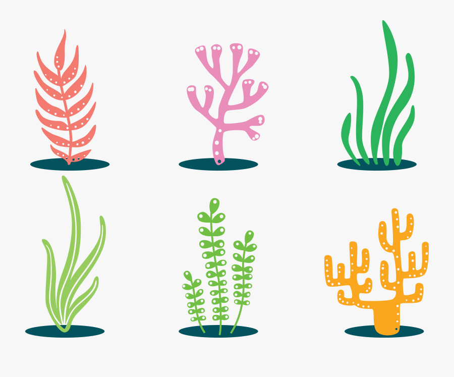 Coral Clip Art - Fish Tank Plant Clipart, Transparent Clipart