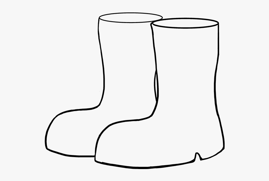 Steps Clipart Boot - Boots Drawing For Kids, Transparent Clipart