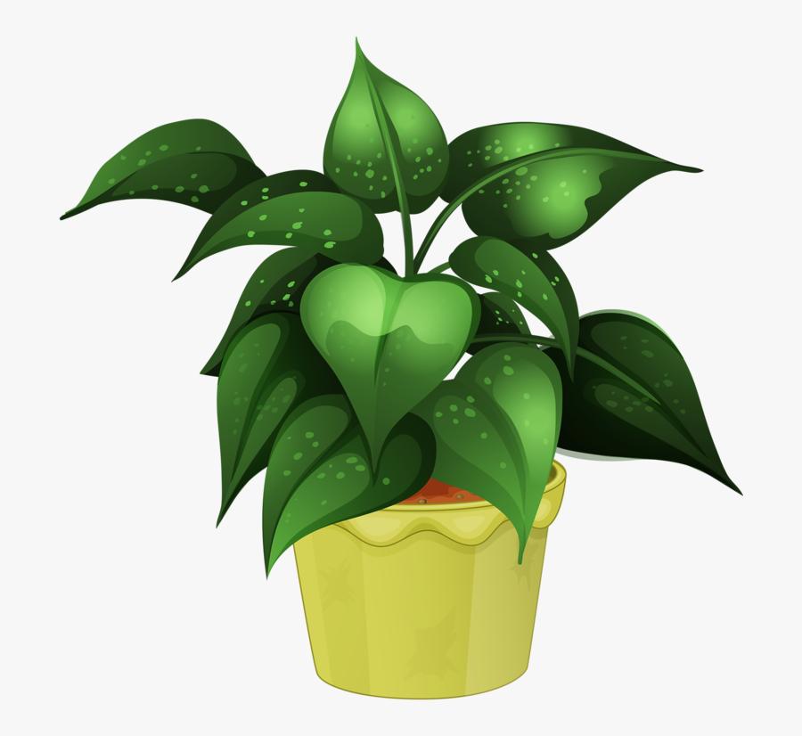 Flower Pot - Free Clip Art Potted Plants, Transparent Clipart