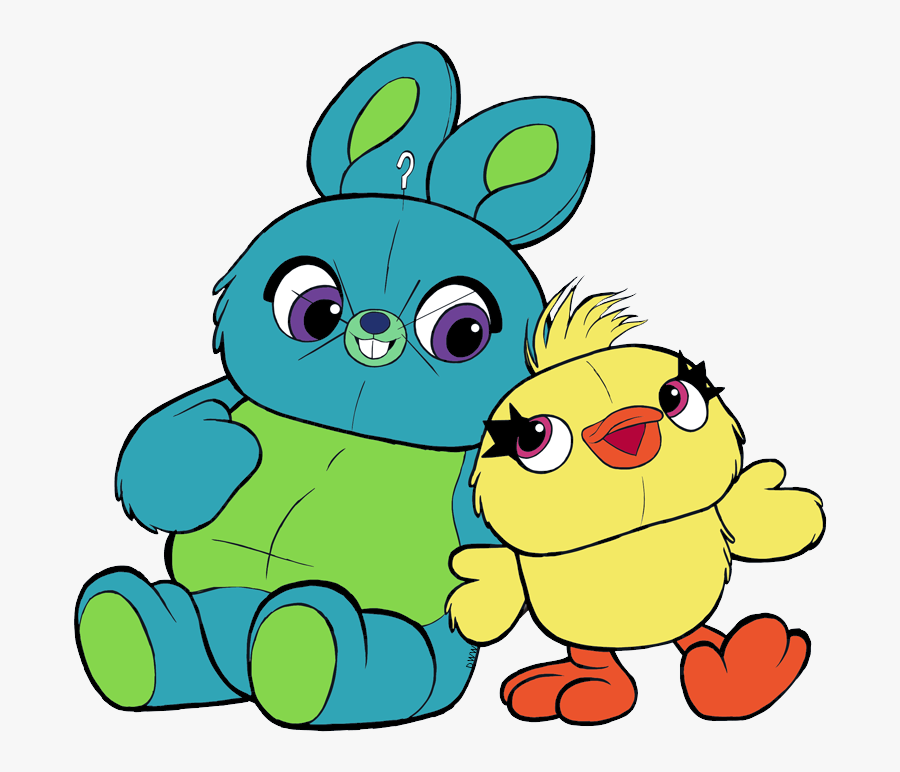 Bunny Y Ducky Toy Story 4, Transparent Clipart