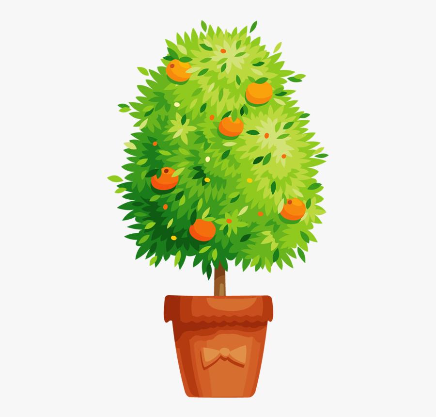 Transparent Flower Pot Png - Potted Plant Clipart Png, Transparent Clipart