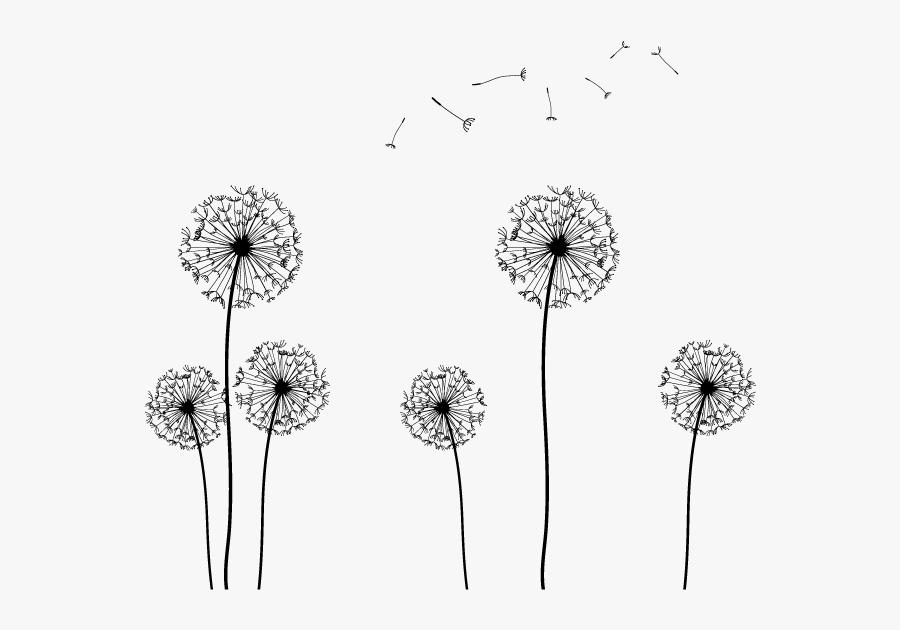 Dandelion Seeds Clip Art